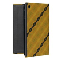 Black Gold and Olive Modern Abstract Stripe Covers For iPad Mini