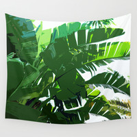 Banana Palms - Wall Tapestry