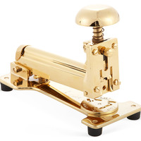23K Gold-Plated Stapler, Office Supplies