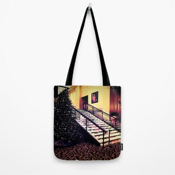 Holiday decor Tote Bag by Jessica Ivy