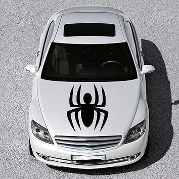 EVIL SPIDER ANIMAL, DESIGN HOOD CAR VINYL STICKER DECALS ART MURALS SV1154