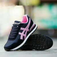 """""""Asics"""" Sport Casual Fashion Retro Multicolor Sneakers Women Running Shoes"""