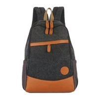 Boys Gilrs Canvas Bag Book Travel Laptop Backpack