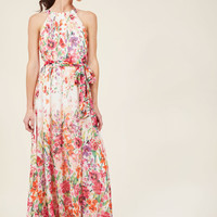 Ever-Flowing Elegance Maxi Dress