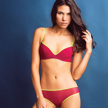 Jane Bikini Brief Marsala