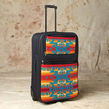 Pendleton ® Wool Luggage Condensed Geometric