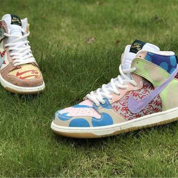 Nike Sb What The Dunk High Basketball Shoes 36 45