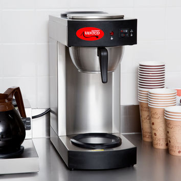 Coffee Maker with 2 Warmers C10 12 Cup Pourover Commercial Avantco 120V