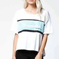 Diamond Supply Co Diamond Logo Crew T-Shirt - Womens Tee - White