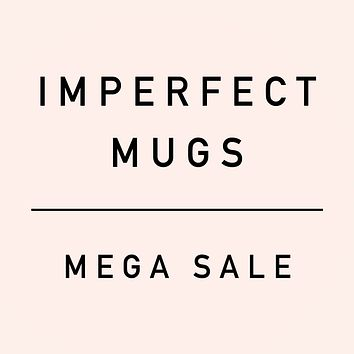 Imperfect Discounted Coffee Mugs