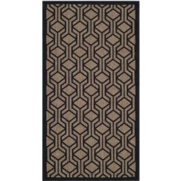 Safavieh, Courtyard Brown/Black 2 ft. 7 in. x 5 ft. Area Rug, CY6114-81-3 at The Home Depot - Mobile
