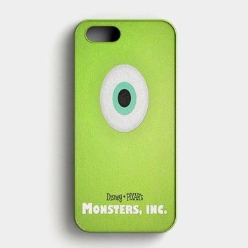 Monster Inc Green Mike iPhone SE Case