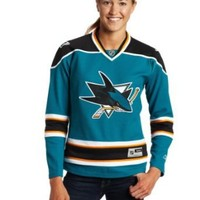 NHL San Jose Sharks Women's Teal NHL Premier Jersey