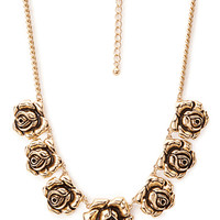 Dark Rose Necklace