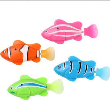 Best kids fish decorations products on wanelo for Toy fish tank