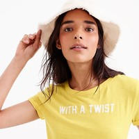 """With a twist"" T-shirt : Women just in 