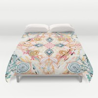 Wonderland in Spring Duvet Cover by Micklyn