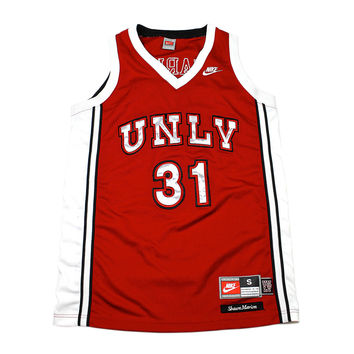 Nike UNLV #31 Shawn Marion College Basketball Jersey Mens Size Small