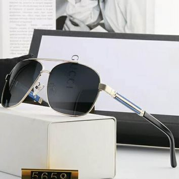 GUCCI 2018 summer men and women fashion sunglasses F-A-SDYJ NO.1