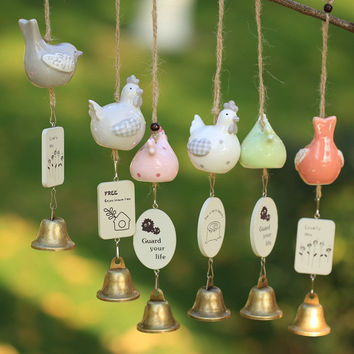 Wind Bell Innovative Pottery Decoration Home Decor [6281770118]