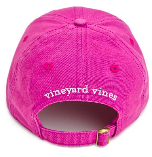 482fd166a98a Vineyard Vines Signature Whale Logo Women's Baseball Hat- Purple Plum