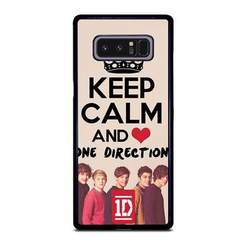 KEEP CALM AND LOVE ONE DIRECTION Samsung Galaxy Note 8 Case Cover
