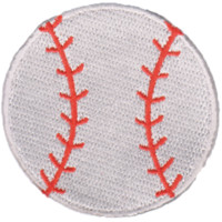 Baseball Emoji Patch