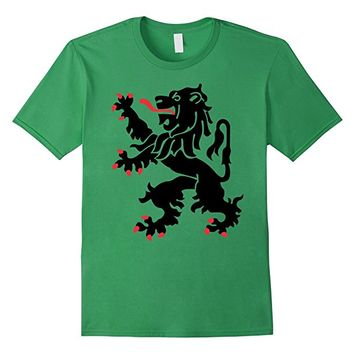 Heraldry Style Lion T-Shirt