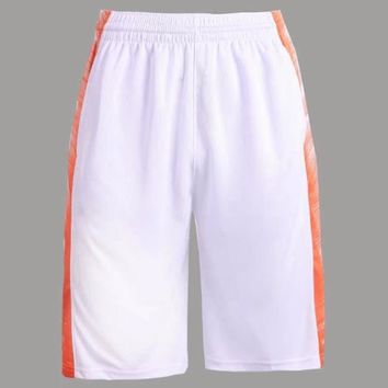Breathable Quick Dry Men's Basketball Shorts With Pockets Perfect quality Running training Gym Sport Shorts