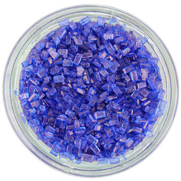 Royal Blue Chunky Sugar