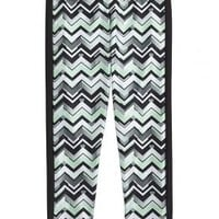 Printed Leggings With Stripe | Girls {category} {parent_category} | Shop Justice