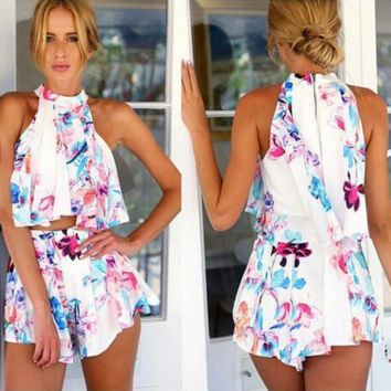 Two-piece printed leakage to shoulder