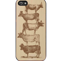 Cow Cow Nuts iPhone 5s For iPhone 5/5S Case