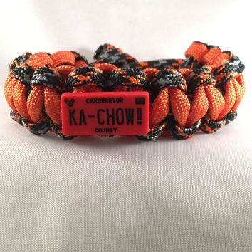 KA-CHOW License Plates - Children Paracord Heaven Survival Bracelet with Knot Closure