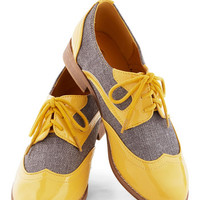 ModCloth Menswear Inspired Your Sunny Day Best Flat