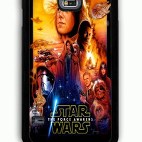 Samsung Galaxy S5 Case - Rubber (TPU) Cover with Star Wars The Force Awakens Rubber Case Design
