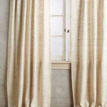 Silk Curtain by Anthropologie