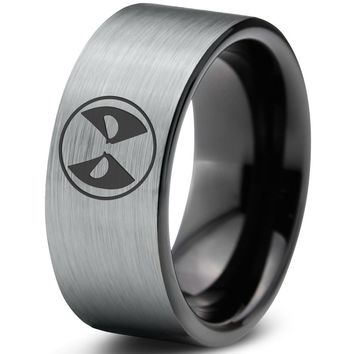 Deadpool Inspired Tungsten Ring