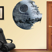 Death Star Wall Decal at AllPosters.com