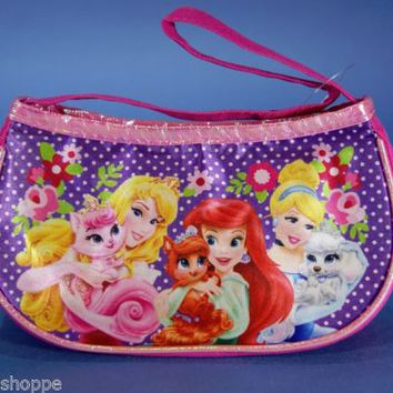 Disney Princess Palace Pets Purse Pink & Purple Little Girls Handbag NWT