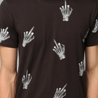 Urban Outfitters - Character Hero X-ray Middle Finger Tee
