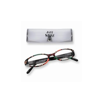 Multi Color 1.25 Magnification Painted Reading Glasses
