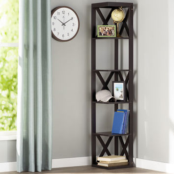 "Andover Mills 65"" Corner Unit Bookcase & Reviews 