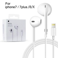 New OEM Apple Earphones Headphones For Iphone 7 8 X plus Bluetooth Phone Control