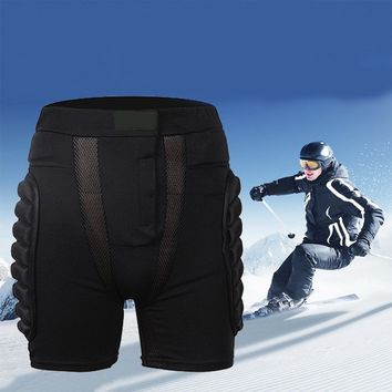 Sports Snowboarding Shorts Hip Protective Bottom Padded For Motorcycle Ski Roller Skate Snowboard Hip Protection Pad Gears