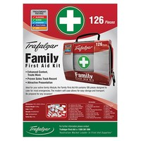 Family First Aid Kit - 126 Piece