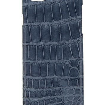 IPhone 6S / 6  Case  Alligator Blue-Jean