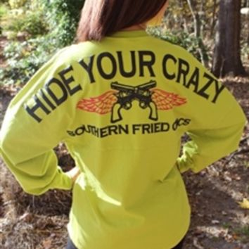 Hide Your Crazy Spirit Jersey