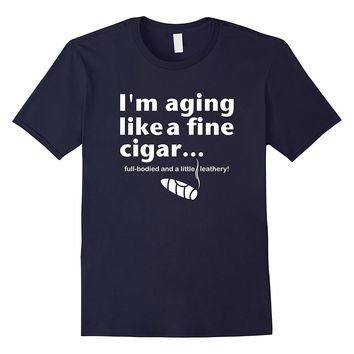 Mens Funny Retirement Cigar Lovers Party Gag T-Shirt