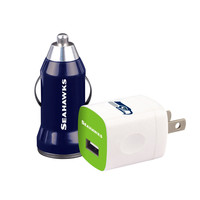 Mizco Seattle Seahawks 2-Pack Home and Away Chargers